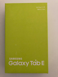 "Samsung Galaxy Tablet E 8"" LTE, Black (SM-T377WZKAXAC)"