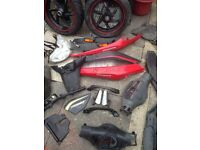 Gilera runner st125/50cc spare parts job lot