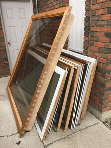 Free: glass doors and large window