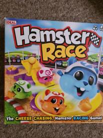 Hamster race game