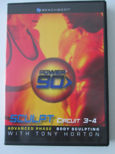Beachbody Power 90 SCULPT Circuit 3-4 Advanced Phase with Tony H