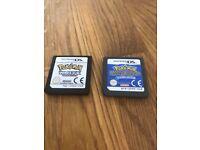 Nintendo DS Pokemon White and Pokemon Mystery Dungeon