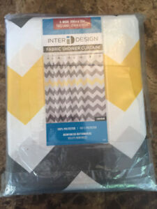 InterDesign Chevron Shower Curtain (ITI2952)