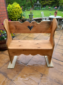 Love seat , bench