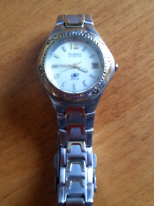 Ladies Fossil Blue Line Dive Watch