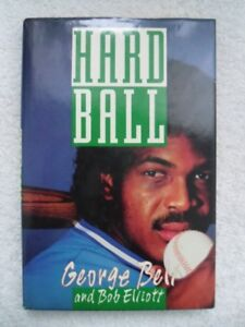 Toronto Blue Jays-George Bell-Hardball Hardcover Book.
