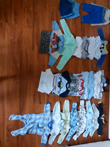 SOLD - 0-6 Months Baby Boy Clothes