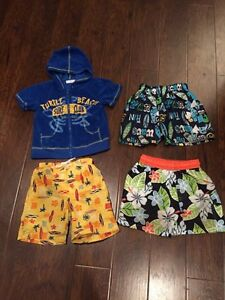 2t swim shorts and Teri zip up hoody