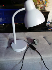 Argos Home Desk Lamp - Dove Grey
