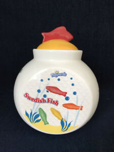 Maynards Swedish Fish Cookie Jar Trebor Bassett Limited