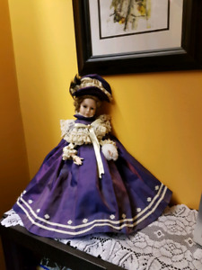 For supplies to make porcelain dolls