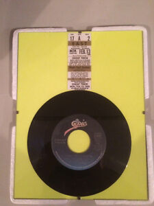 "Cheap Trick Framed 45 Record ""I Want You To Want Me"""