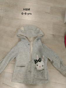Girl 6-7 yrs H&M outerwear $8