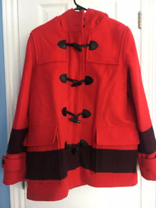 Hudson Bay Wool Duffle Coat- New with Tags