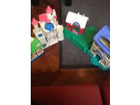 Selection of girls play houses in reasonable condition