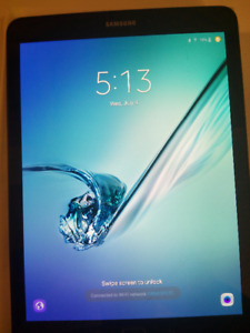 """Samsung Galaxy Tab S2 9.7"""" Tablet (glass crack - screen/touch ok"""