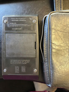 Vintage 1979 Texas Instruments TI BUSINESS ANALYST I Calculator