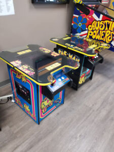 PACMAN ARCADE CONSOLE - 60 GAMES IN 1 !!