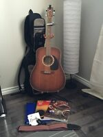 Art & Lutherie acoustic guitar beginners set