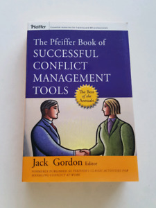 The Pfeiffer book of successful conflict management