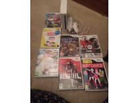 Nintendo Wii console + games
