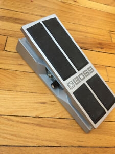 Boss FV 500H - volume and expression pedal.