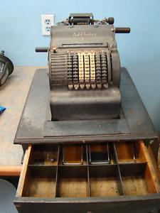 "Vintage Cash Register - "" Add- Index"" Brand - Classic"