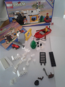 Lego 6266 Cannon Cove Box/Manual VTG