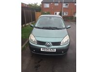 Renault scenic expression 1.6 petrol