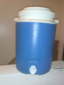 Two Gallon Blue Water Cooler