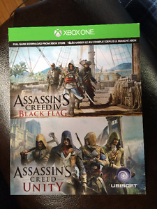 Assassins Creed Black Flag Digital Download Code for Xbox One