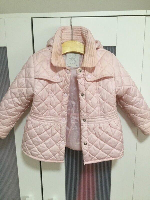 Minibanda pink girls jacket age 18 months