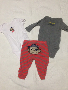 Boys 3 month Carters outfit