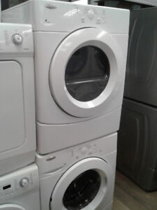 SET WASHER AND DRYER WHIRPOOL ACCUDRY WHITE 27""