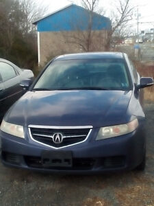 2004 ACURA TSX AOTOMATIC LOADED LEATHER HWY KMS PRIVATE $2950.00