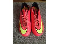 Mercurial football boots