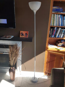 Lamps (2 torch lamps and 2 table lamps)