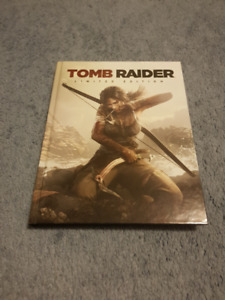 Tomb Raider Limited Edition Guide + Rise of Tomb Raider Art Book