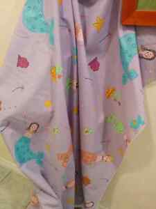 Happy Mermaid Fabric