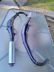 YAMAHA RZ350 1986-1990 EXHAUST PIPES EXPANSION CHAMBERS Windsor Region Ontario image 1