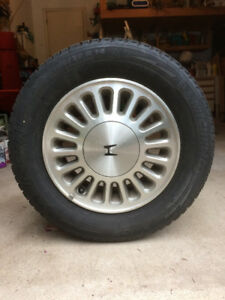 MICHELIN SNOW TIRES ,185/70R/14, on Rims