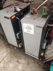 Used Stant Fin gas furnace hot water boilers