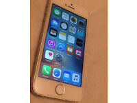 Apple IPhone 5s 16GB Ee virgin TMOBILE and orange networks silver white (6298)