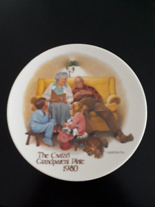 Edwin Knowles - 5 Collector Plates