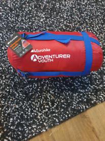 Brand new Eurohike YOUTH sleeping bag