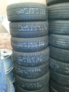 205/55R16 used tires Winters