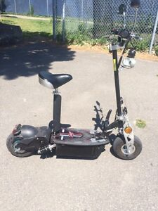 Black Electric Scooter