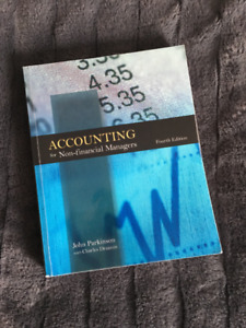 ADMS1500 TEXTBOOK Accounting for Non-Financial Managers