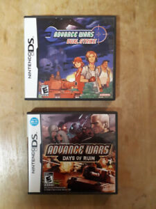 Advance Wars Dual Strike & Days of Ruin for sale