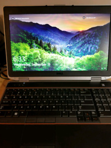 Dell Latitude E6520 with SSD + Extras